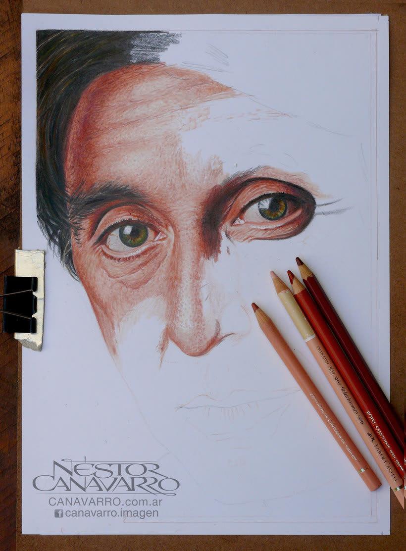 Al Pacino en Lápices de Colores 4