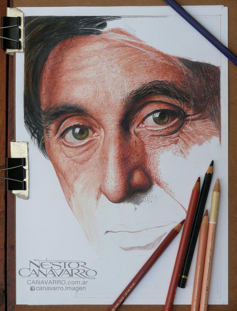 Al Pacino en Lápices de Colores 5