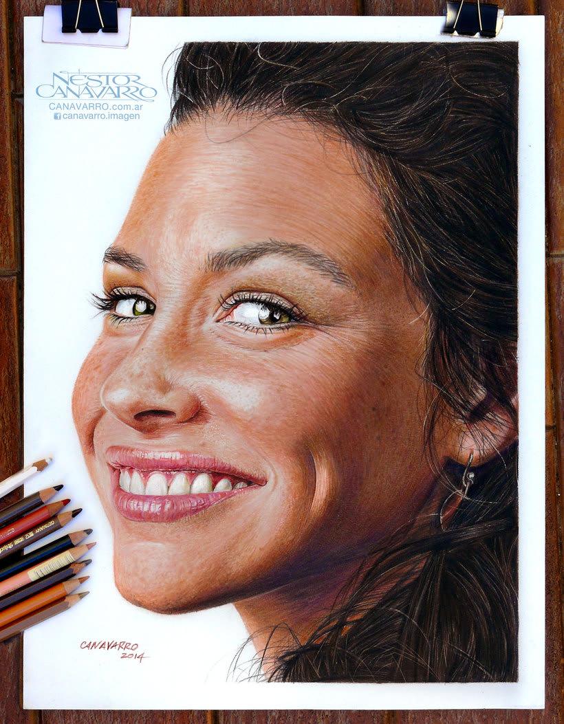 Evangelline Lilly en Lápices de Colores 0
