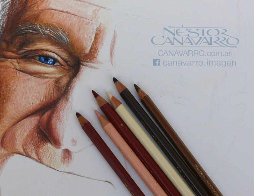 Robin Williams en Lápices de Colores 0