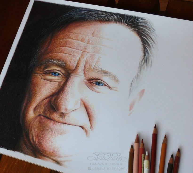 Robin Williams en Lápices de Colores 1