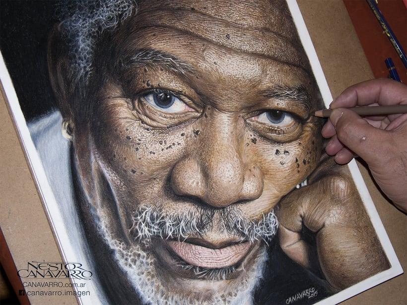 Morgan Freeman en Lápices de Colores 1