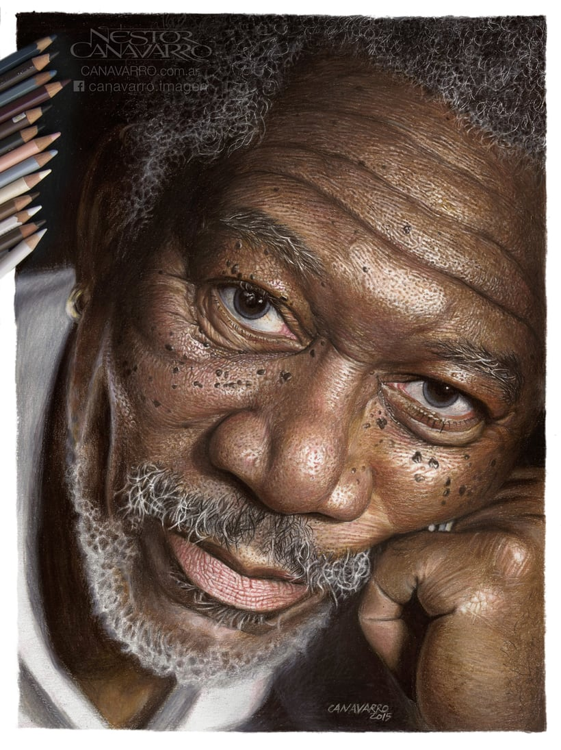 Morgan Freeman en Lápices de Colores 0