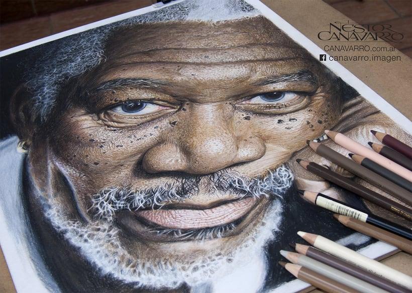 Morgan Freeman en Lápices de Colores 4