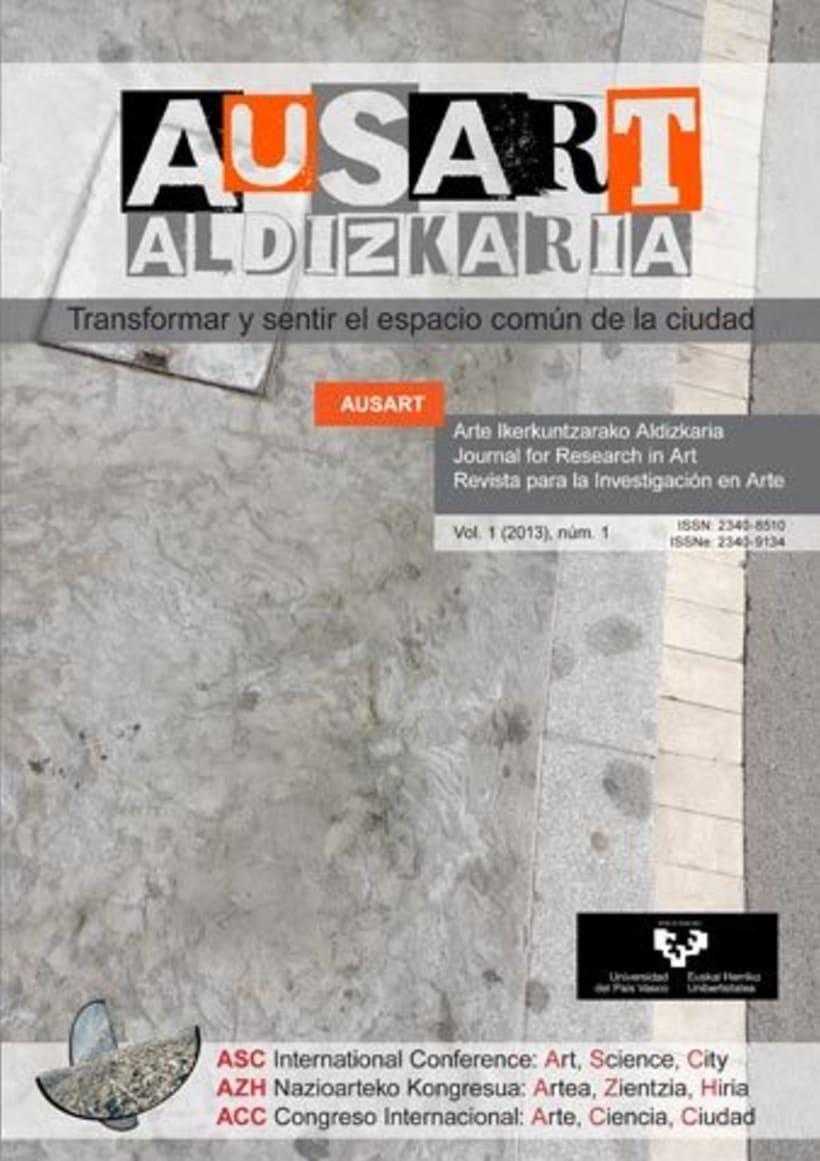 AusArt - Diseño de portadas e interior, y maquetación de la revista -1