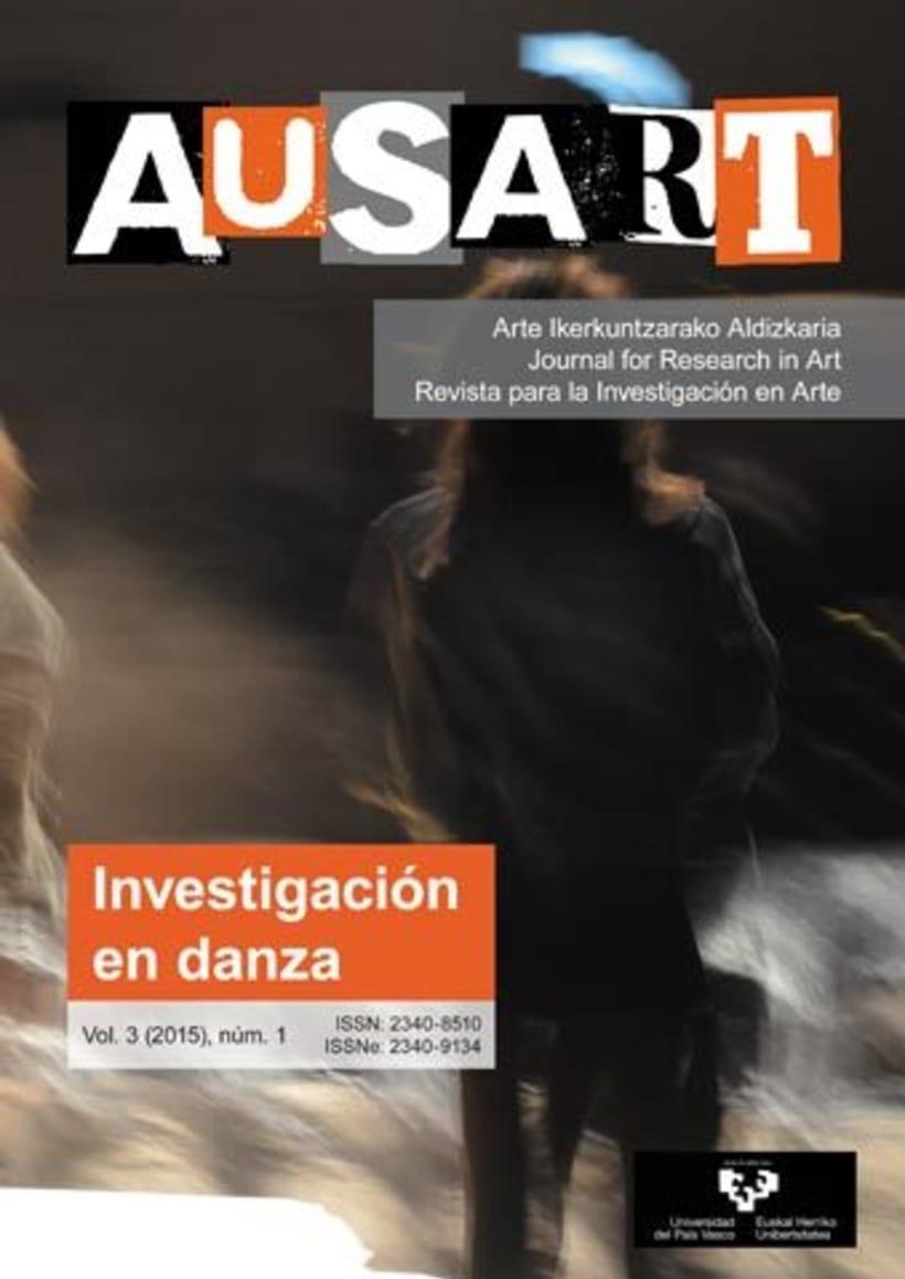 AusArt - Diseño de portadas e interior, y maquetación de la revista 1