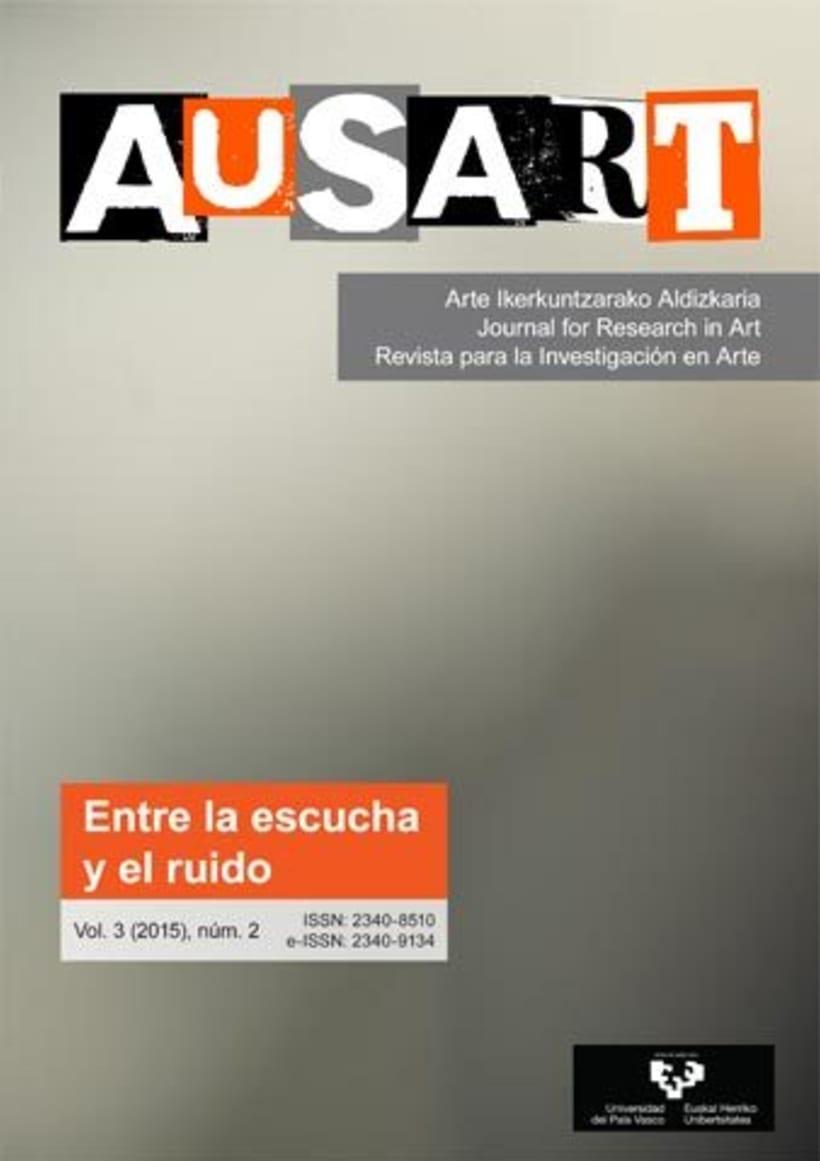 AusArt - Diseño de portadas e interior, y maquetación de la revista 3