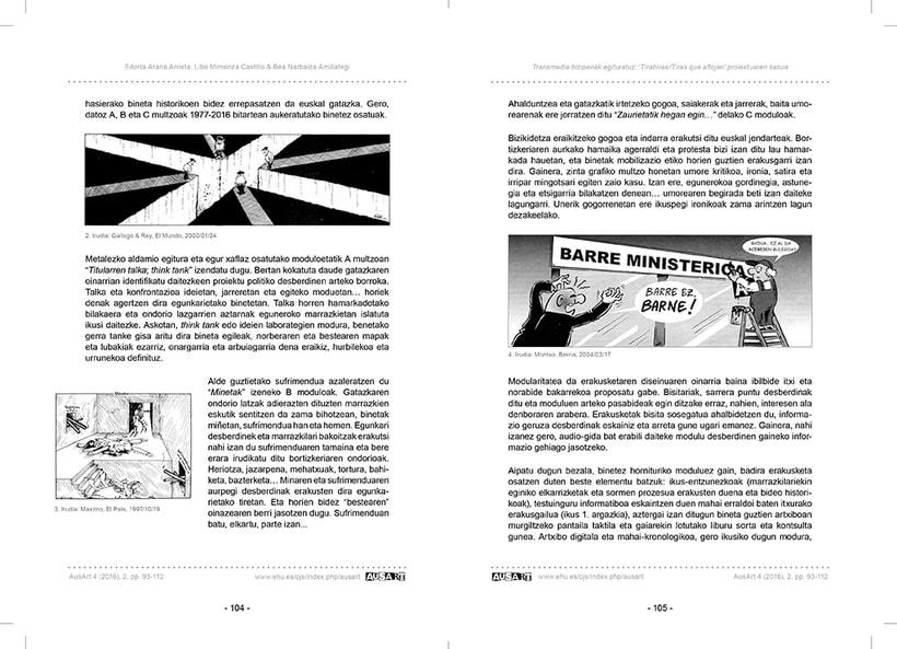 AusArt - Diseño de portadas e interior, y maquetación de la revista 5