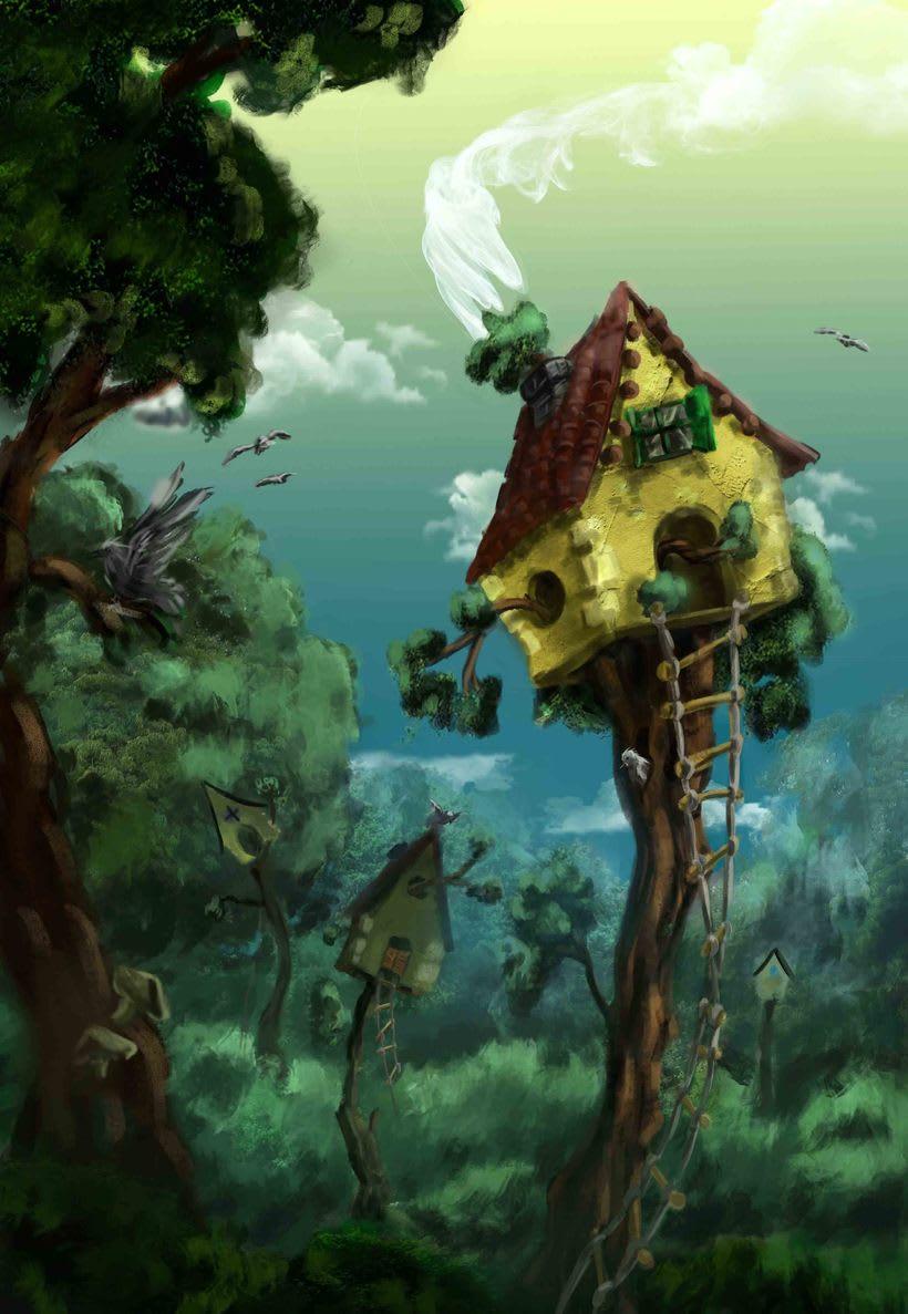 tree house environment 0