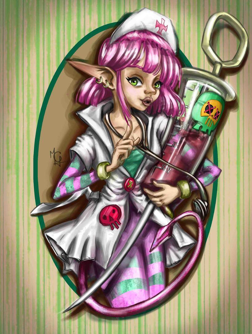 Evil Nurse_ Character  -1