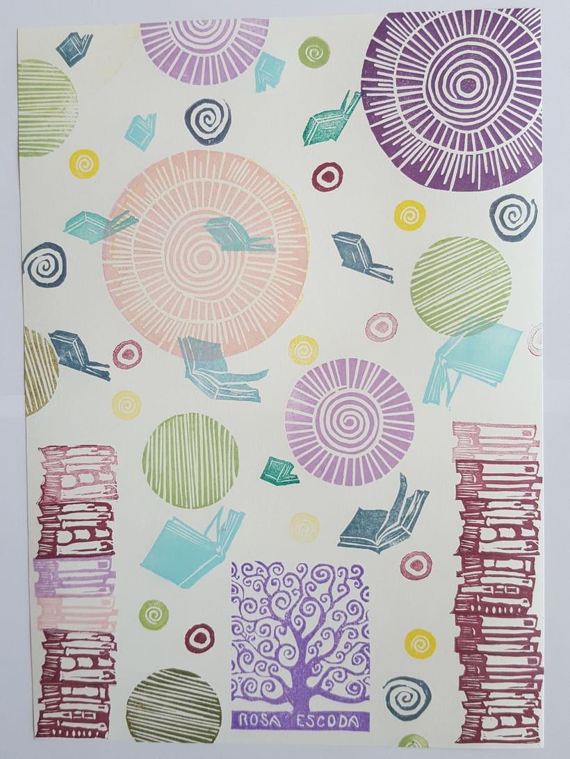 Composición con ex libris -1