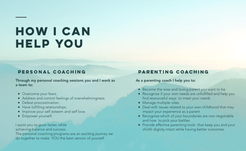 Connect and excel coaching website 2