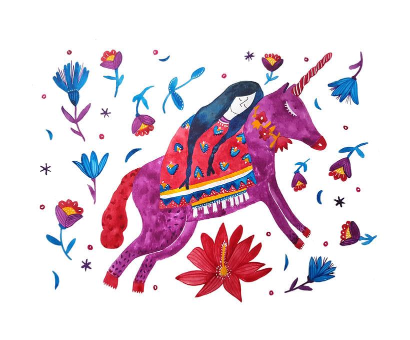 Unicornio y sueños -1