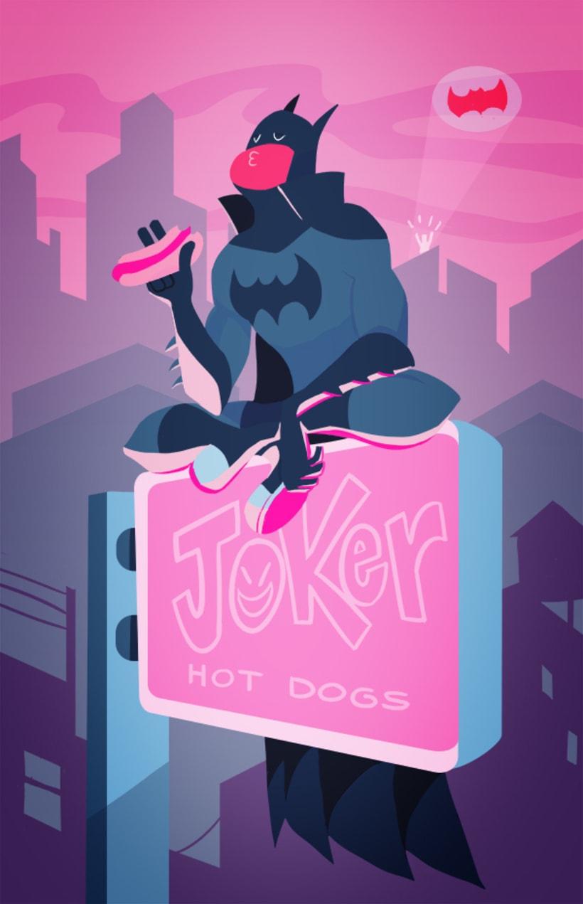 Batman relajado 0