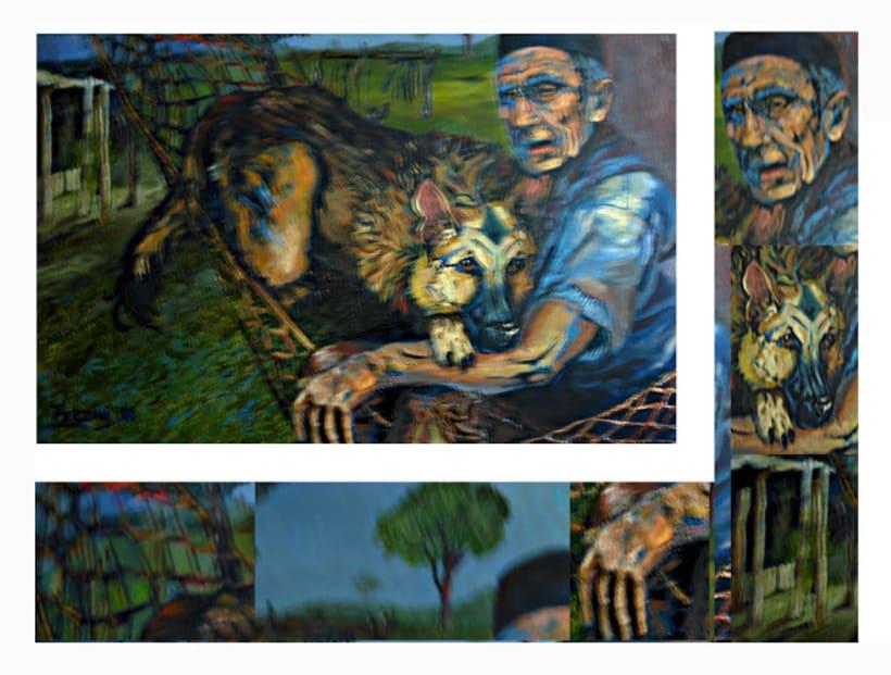 Retratos y cuadros vs. 4