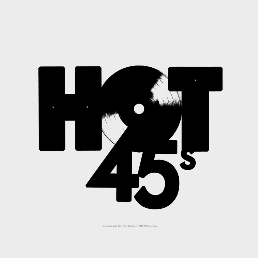 Hot 45´s Records Logo 3