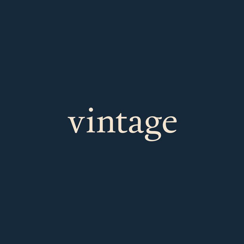 Marca y branding para Vintage 0