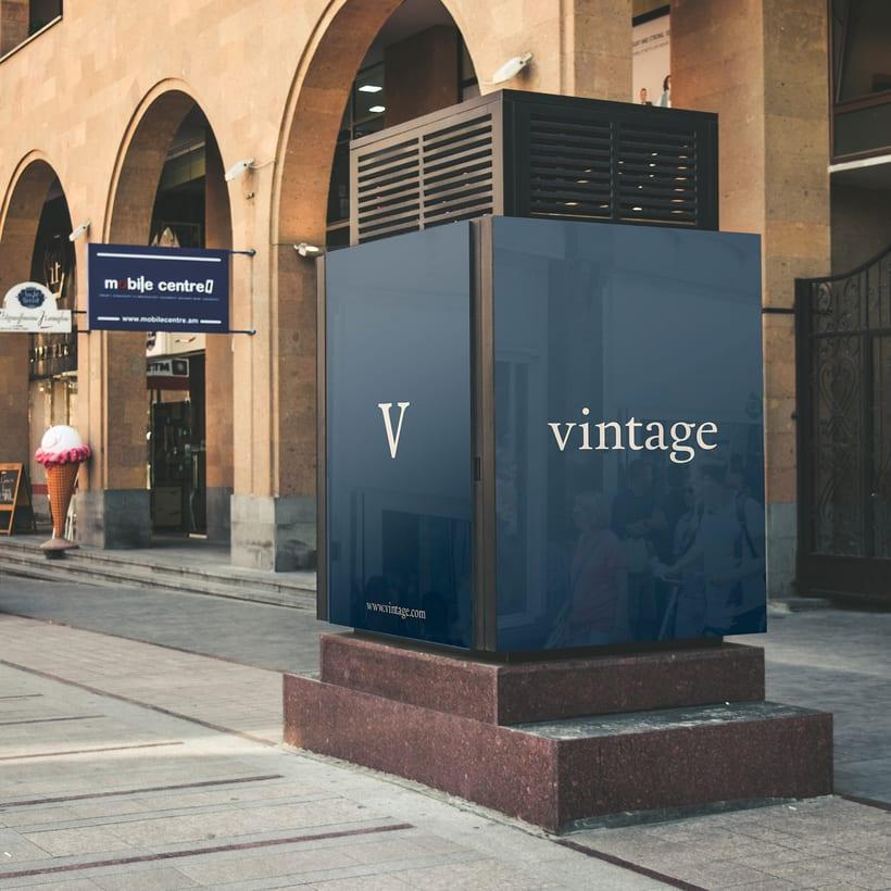Marca y branding para Vintage 13