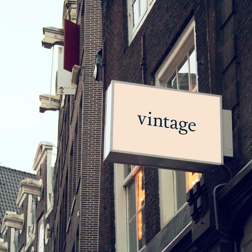 Marca y branding para Vintage 14