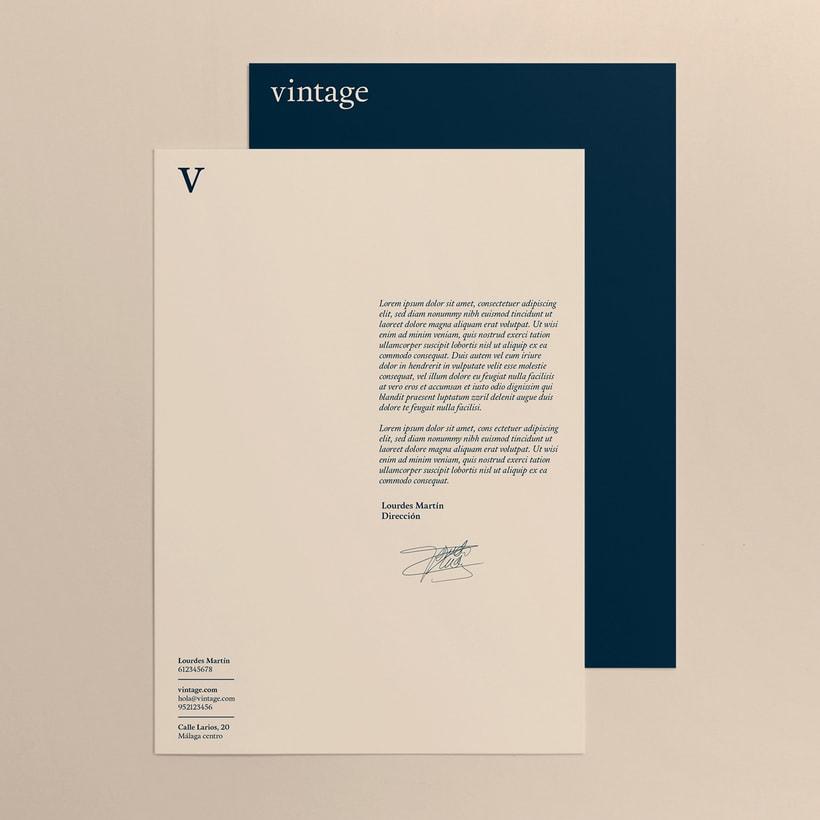 Marca y branding para Vintage 8