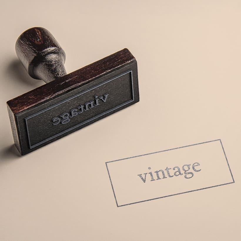 Marca y branding para Vintage 9