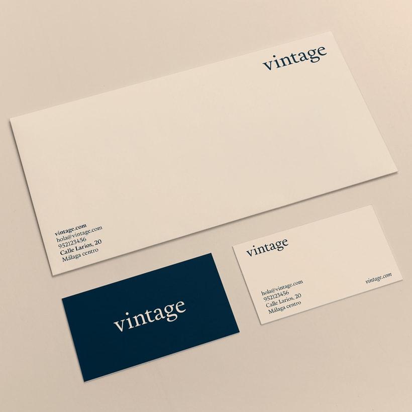 Marca y branding para Vintage 7