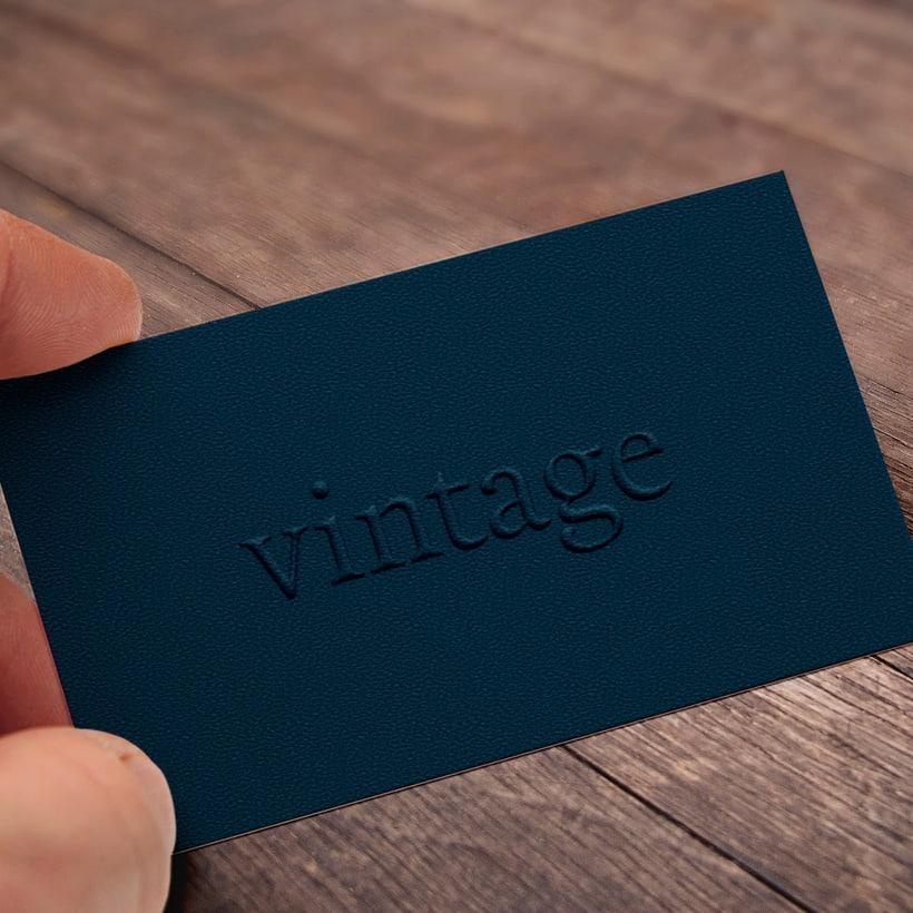 Marca y branding para Vintage 5