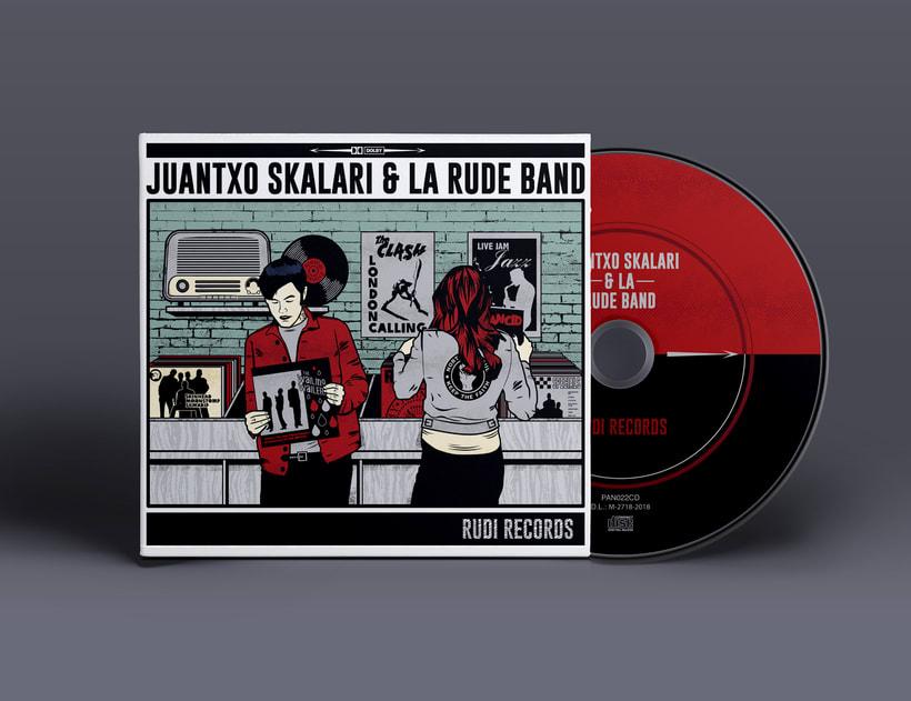 JUANTXO SKALARI & LA RUDE BAND 1