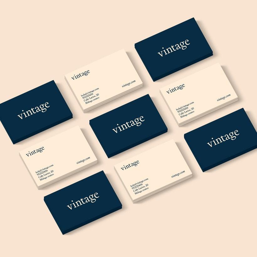 Marca y branding para Vintage 3