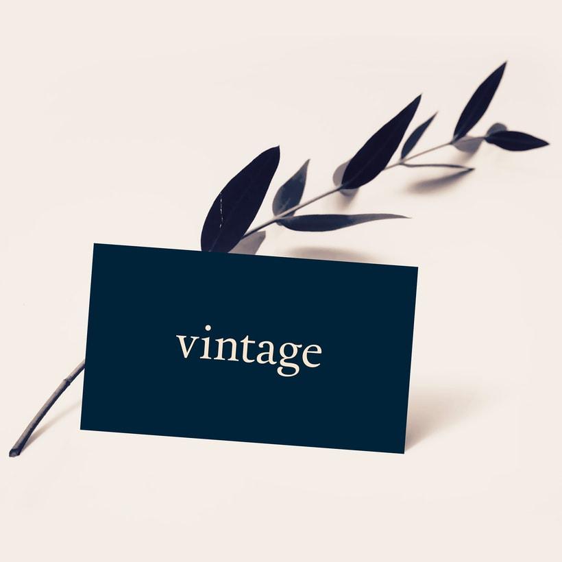 Marca y branding para Vintage 4