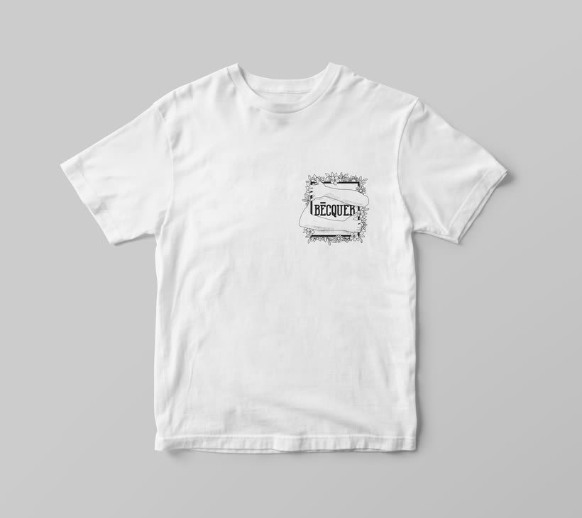 BÉCQUER -  THE 9TH SPRING · Band t-shirt -1