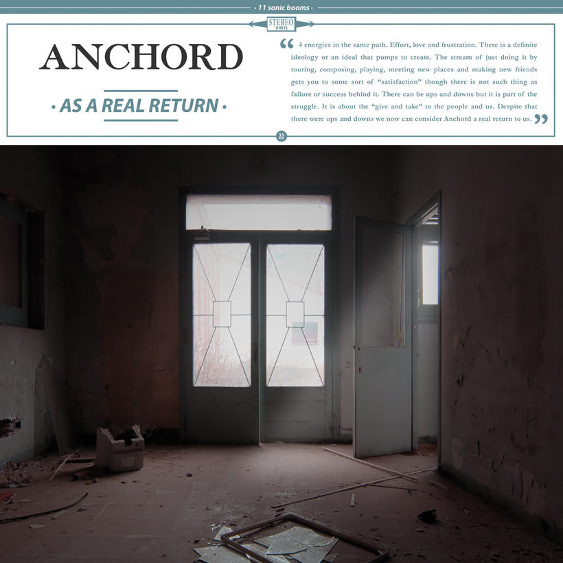 ANCHORD - As a real return - Vinyl artwork 0