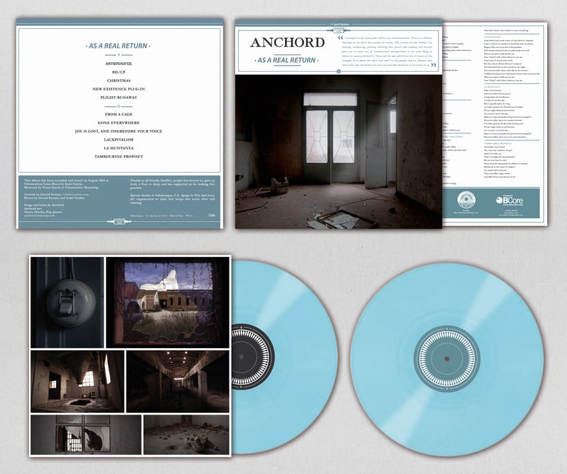 ANCHORD - As a real return - Vinyl artwork 1