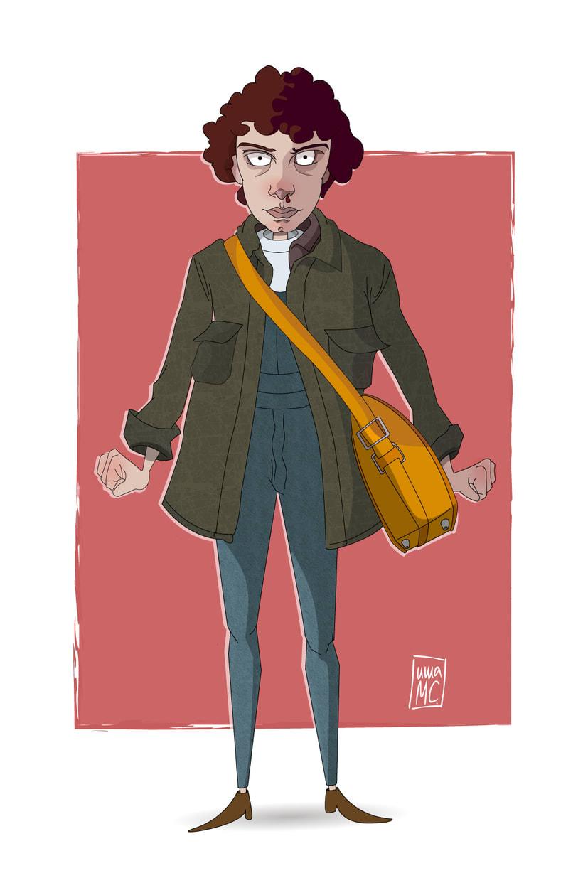 Eleven. Stranger Things. -1