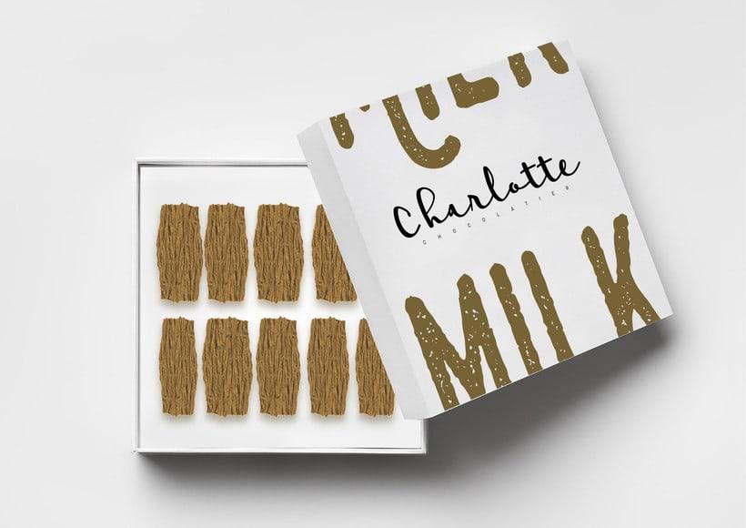 Charlotte Chocolatier Branding & Packaging 2
