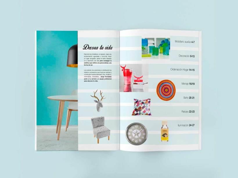Línea gráfica para los catálogos de producto de Jorge Fernández  2