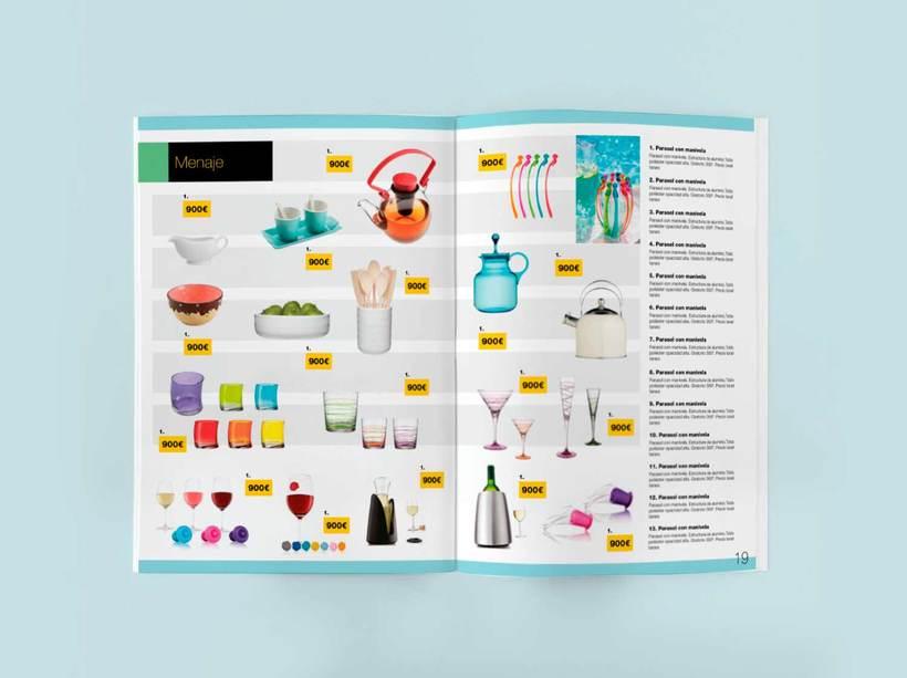 Línea gráfica para los catálogos de producto de Jorge Fernández  3