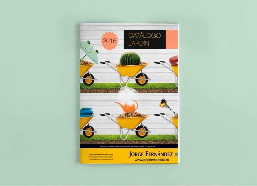 Línea gráfica para los catálogos de producto de Jorge Fernández  4