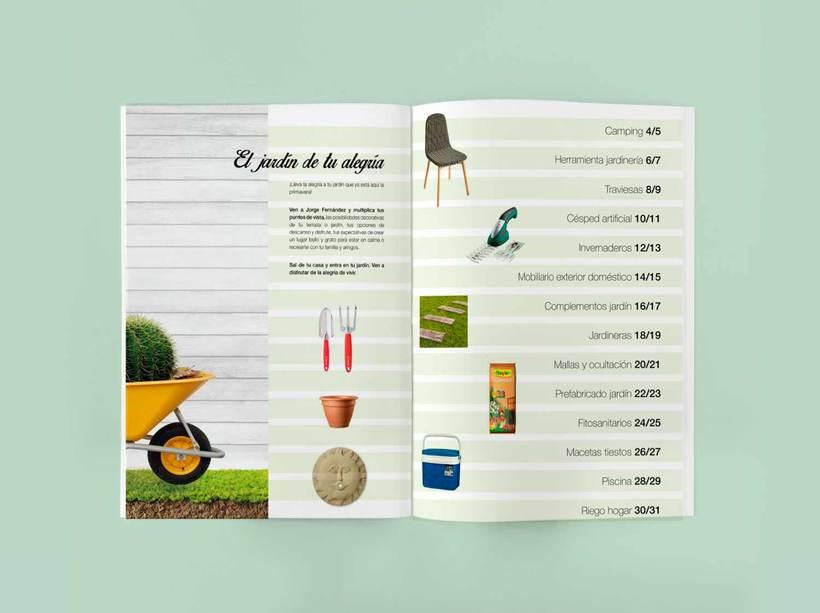 Línea gráfica para los catálogos de producto de Jorge Fernández  5
