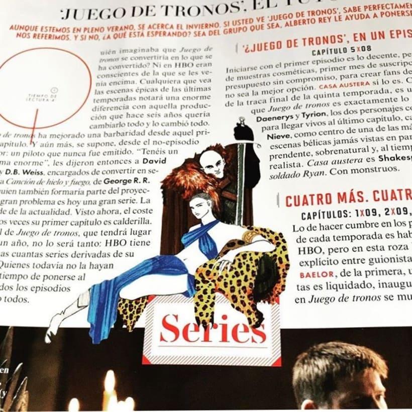 Publicación para Vanity Fair de la pareja Victoria & Frank. Julio 2017 2