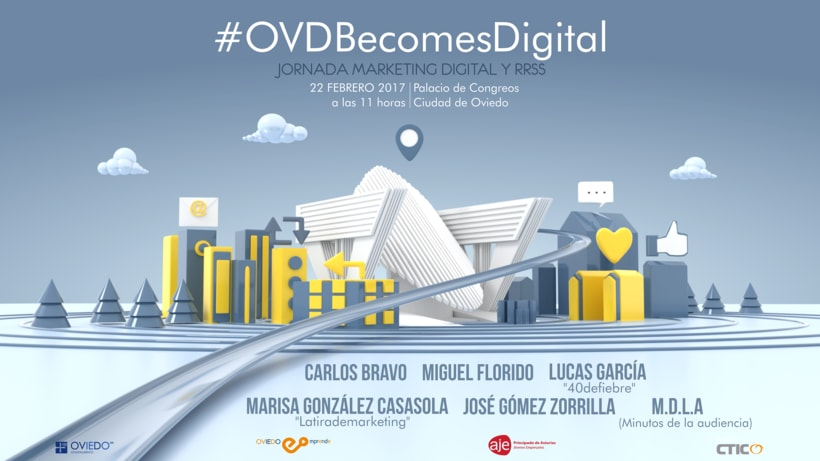 Cartel 'Ovd Becomes Digital' -1