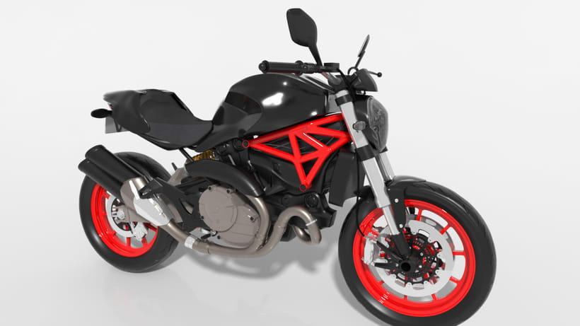 Ducati Monster 821 0