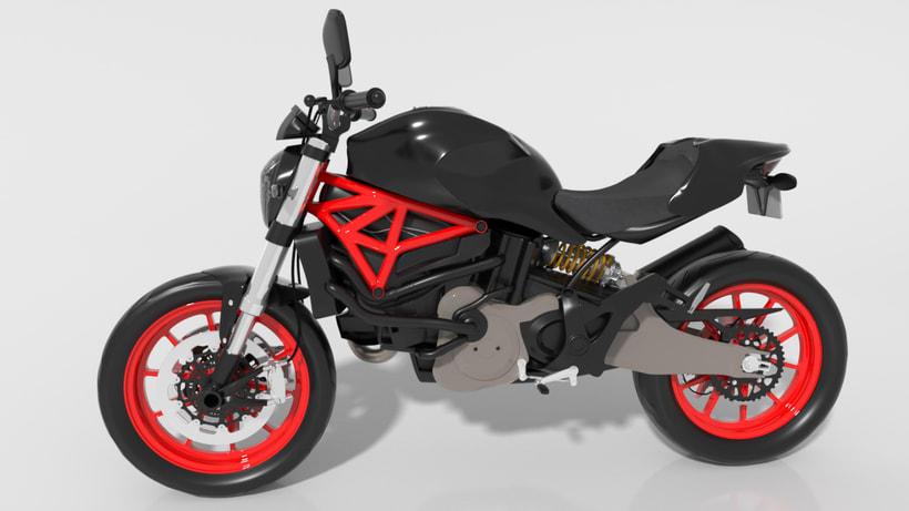 Ducati Monster 821 2
