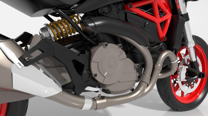 Ducati Monster 821 1