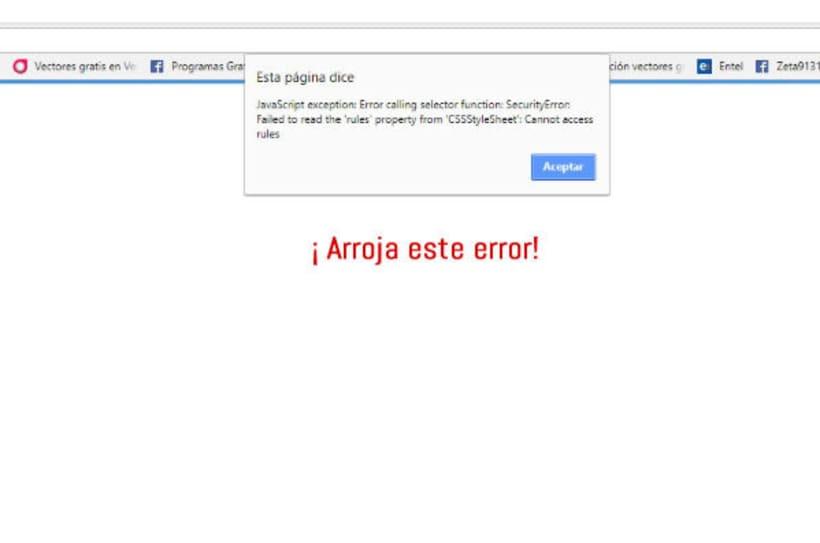Problema al exportar a HTML 1