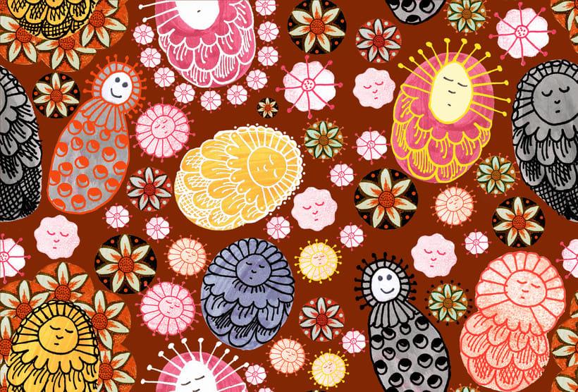 Mi Proyecto del curso: Diseño de estampados textiles 4