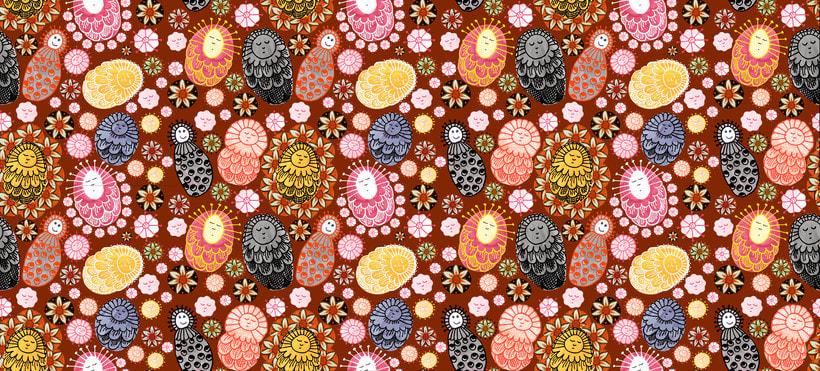 Mi Proyecto del curso: Diseño de estampados textiles 5