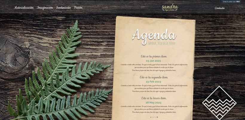 Branding, diseño web. Sanadora espiritual. 4