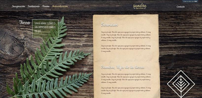 Branding, diseño web. Sanadora espiritual. 5