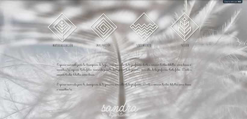 Branding, diseño web. Sanadora espiritual. 7